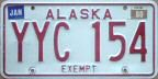 1980 Alaska charitable exempt vehicle
