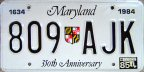 1985 Maryland 350th Anniversay